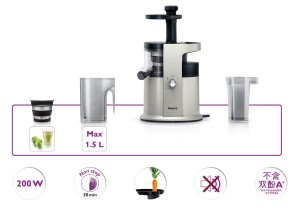 componenti dell'estrattore di succo Philips HR1882/31
